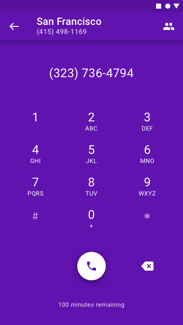 how to call from a private number canada