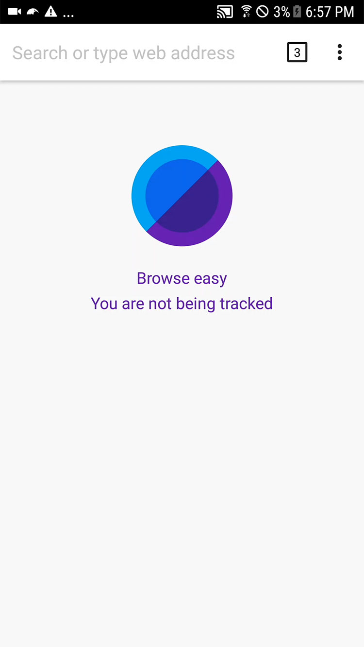 Keepsafe Browser for Android screenshot