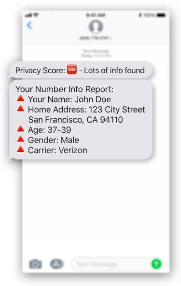 Lookup A Number >> My Number Lookup See Info Data Brokers Have On Your Phone Number